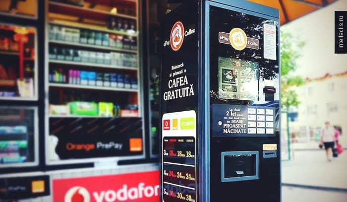 бизнес план кофейные автоматы